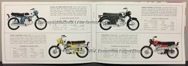 honda the right choice 1969 brochure includes the z50 a k1