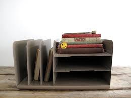 Vintage Desk Organizers Vintage Desk Organizer Vintage Metal File Paper File Mid