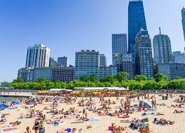 Chicago Beaches Map by Memorial Day Weekend In Illinois