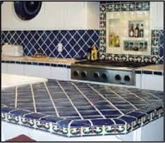 Tile For Kitchen Countertops by Ideas For Using Mexican Tile In Your Kitchen Or Bath Countertop