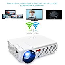 amazon com wifi projector elegiant 3000 lumens long life led full
