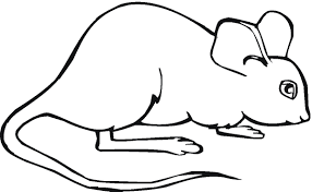 free printable mouse coloring pages for kids