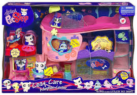 lps get better center littlest pet shop pet adoption center playset toys
