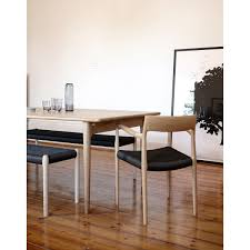 moller 77 chair moller bench in black papercord and moller