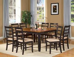 Solid Walnut Dining Table And Chairs Dining Room Fair Picture Of Gold Dining Room Decoration Using
