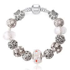 european bracelet images Innocententre junesnow sliver plated jewelry european charm rose beads jpg