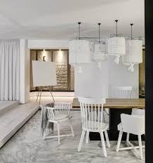white apartment in kiev makes a case for monochromatic design