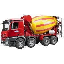 bruder farm toys bruder mb arocs cement mixer commercial and farm vehicles