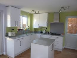 white gloss kitchen in stevenage hertfordshire kitchen ergonomics
