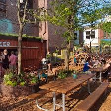 Backyard Beer Garden - groundswell design group landezine international landscape award