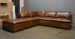 Brompton Leather Sofa Reno Modular Sectional Sofa In Italian Brompton Classic Vintage