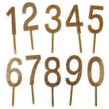 cake topper numbers toppers picks layer cake shop