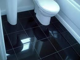 Black Bathroom Floor Tiles Amazing Black Floor Tile With Black Tile Bathroom Floor Onlive Gallery