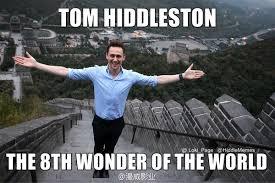 Tom Hiddleston Memes - hiddlememes on twitter new meme tom hiddleston visits the great