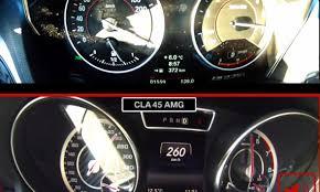lexus is vs mercedes cla mercedes benz cla 45 amg vs bmw m235i speedometer battle