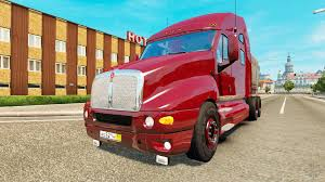 kenwood w900 kenworth t2000 for euro truck simulator 2