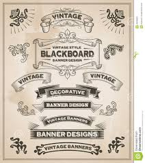 western ribbon vintage retro banners stock vector illustration of