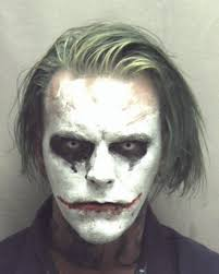 man wearing joker makeup and carrying knife arrested winchester