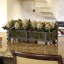 kitchen island centerpiece silk floral centerpieces foter