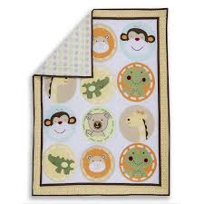 Dream On Me Portable Crib Mattress by Amazon Com Dream On Me Animal Kingdom 5 Piece Reversible