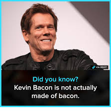 Bacon Meme Generator - list of synonyms and antonyms of the word kevin bacon meme