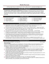 ideas sample of professional resume with experience sample of