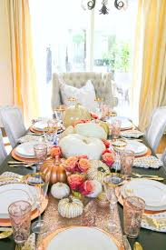 11 gorgeous thanksgiving tablescapes to inspire you pizzazzerie