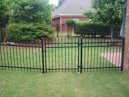 backyard design wrought iron fence panels modern carolbaldwin