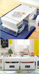 Kids Activity Table With Storage 20 Clever Kids Playroom Organization Hacks And Ideas