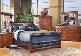 cindy crawford bedroom set cindy crawford home savannah bi cast leather 7 pc queen bedroom
