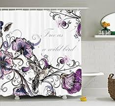 Purple Bathroom Curtains How To Incorporate Purple Bathroom Accessories Xpressionportal