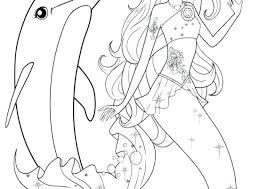 printable coloring pages of mermaids winter the dolphin coloring pages mermaid dolphin coloring pages