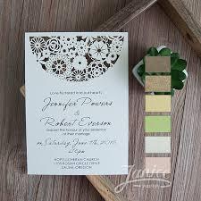 bohemian wedding invitations magical bohemian floral laser cut wedding invitations wfl0095