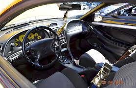 95 mustang gt interior yellow 1995 ford mustang gt coupe mustangattitude com photo detail