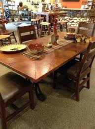Dining Room Table Tops Copper Dining Room Tables Copper Top Dining Room Tables Copper