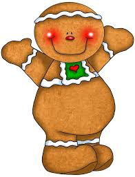 gingerbread clipart cute button pencil and in color gingerbread