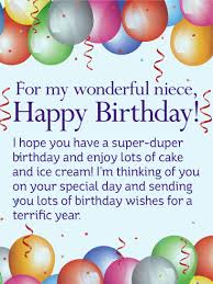 have a super duper birthday happy birthday wishes card for niece