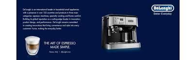 Comfort Temp Delonghi Amazon Com Delonghi Bco430 Combination Pump Espresso And 10 Cup