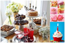how to decorate birthday table table decorations for parties ideas decorating with food birthday