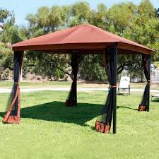 Outdoor Net Canopy by 10 10 Gazebo With Netting Blitz Host