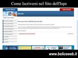 cassetto previdenziale cittadino inps come iscriversi nel sito dell inps ed accedere ai servizi