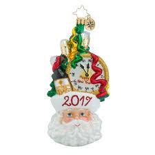 radko 1018529 headed to next year dated 2017 santa with