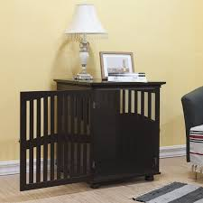 make a dog crate end table house design