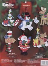 bucilla ornaments needlecrafts yarn ebay
