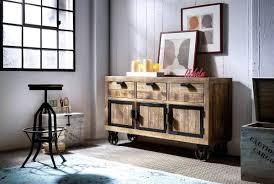 Wohnzimmer Landhausstil Braun Dreams4home Sideboard U0027fin Ii U0027 Recycling Kiefer Antik Braun