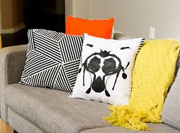 halloween pillows a kailo chic life craft it rorschach inspired halloween pillows