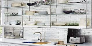 Open Metal Shelving Kitchen by Open Kitchen Shelving Ideas