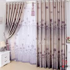 Light Block Curtains Blackout Living Room European Style Vintage Fabric Curtains