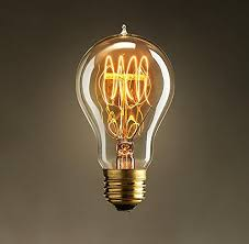 light bulb old style vintage light bulb loop filament old fashioned edison e27