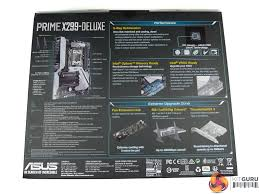 asus prime x299 deluxe motherboard review kitguru part 2